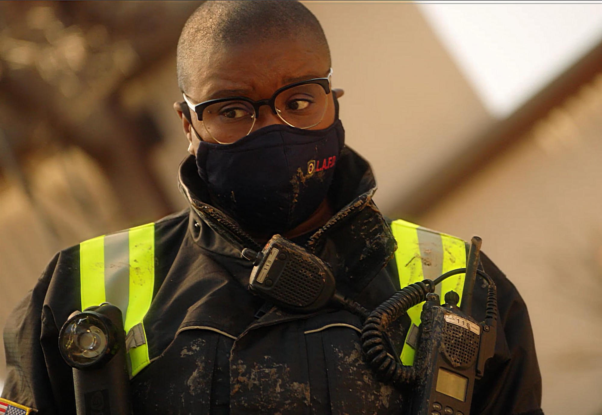 """9-1-1: Aisha Hinds in the """"Alone Together"""" episode of 9-1-1 airing Monday, Jan. 25 (8:00-9:00 PM ET/PT) on FOX. CR: FOX. © 2021 FOX Media LLC."""