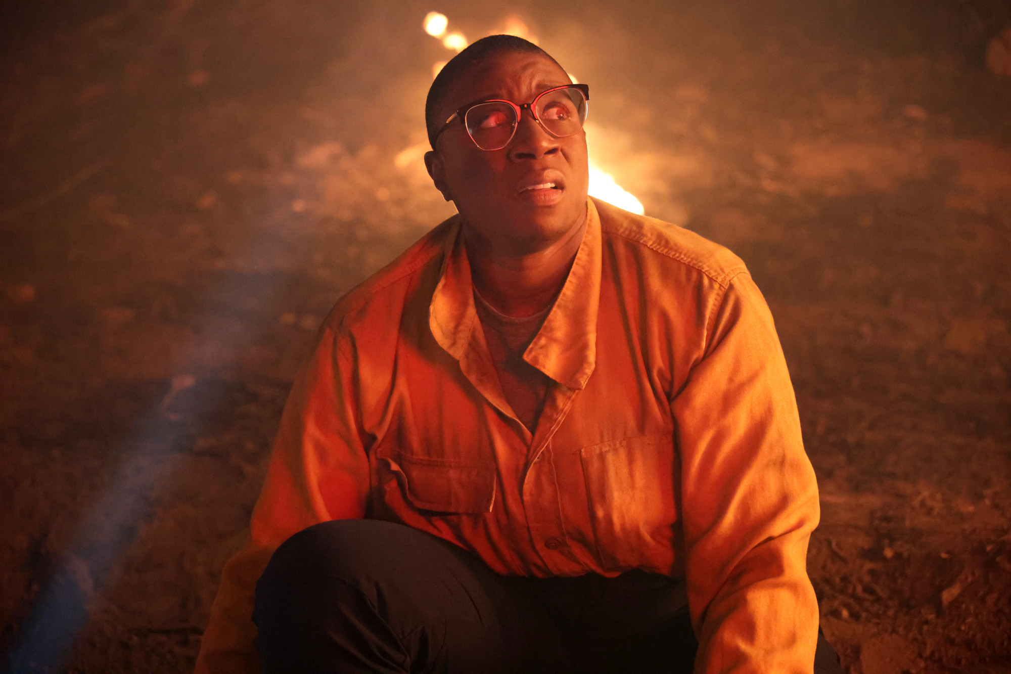"""9-1-1: LONE STAR: Special guest star Aisha Hinds in the """"Hold The Line"""" episode of 9-1-1: LONE STAR airing Monday, Feb. 1 (9:01-10:00 PM ET/PT) on FOX. © 2021 Fox Media LLC. CR: Jordin Althaus/FOX."""