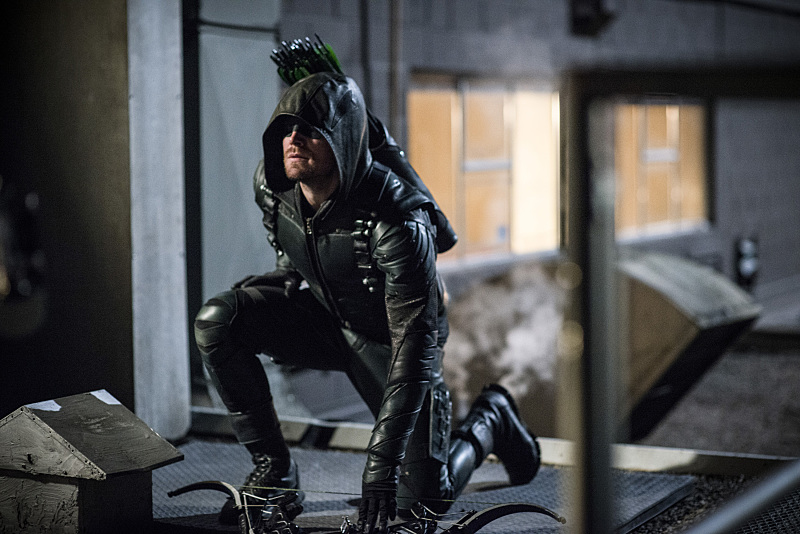 "Arrow: ""A Matter of Trust"""