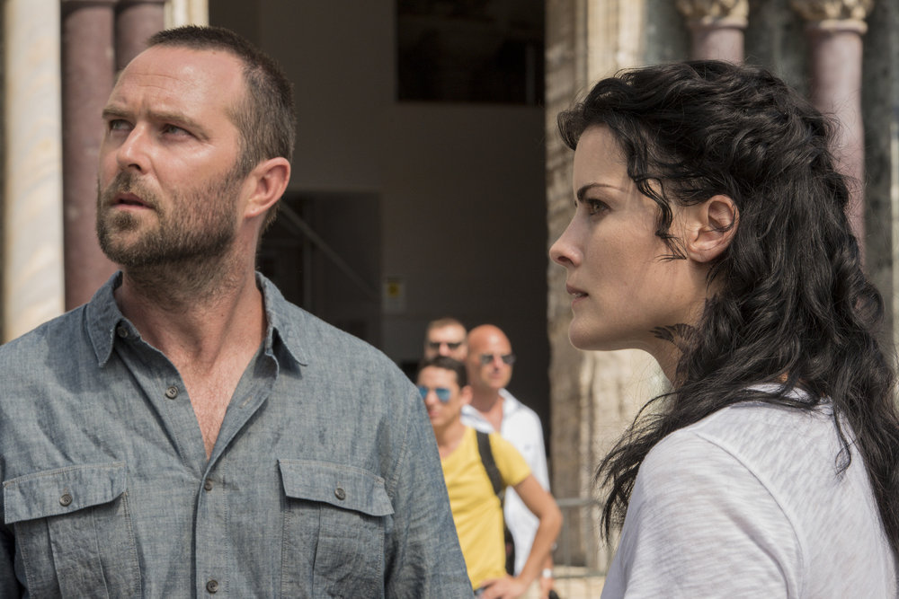"Blindspot Episode 3.01 "" ""Back to the Grind"""