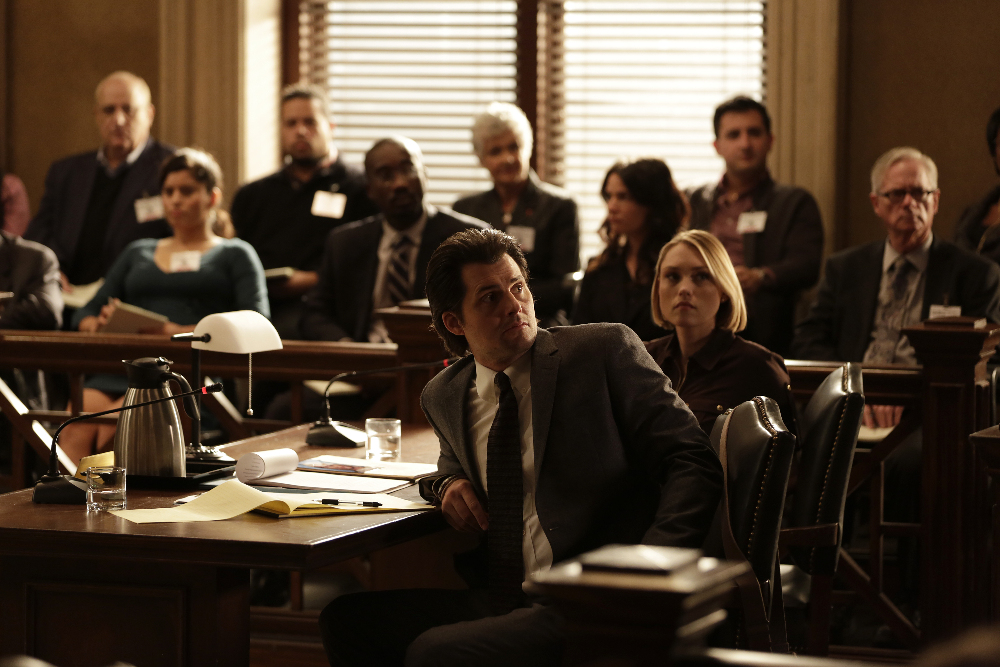 "CASTLE - ""Witness for the Prosecution"""