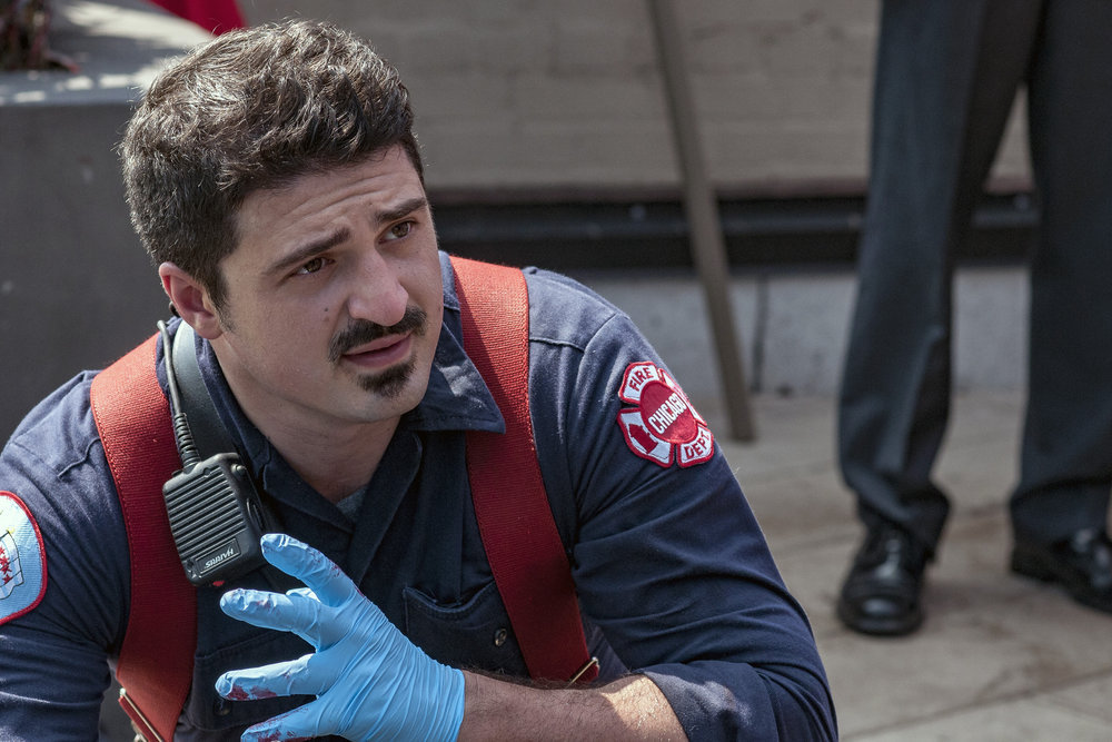 """CHICAGO FIRE -- """"I Held Her Hand"""""""