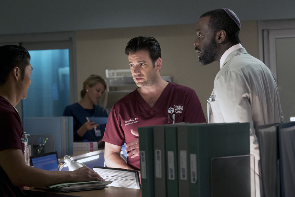 "CHICAGO MED -- ""Brother's Keeper"""