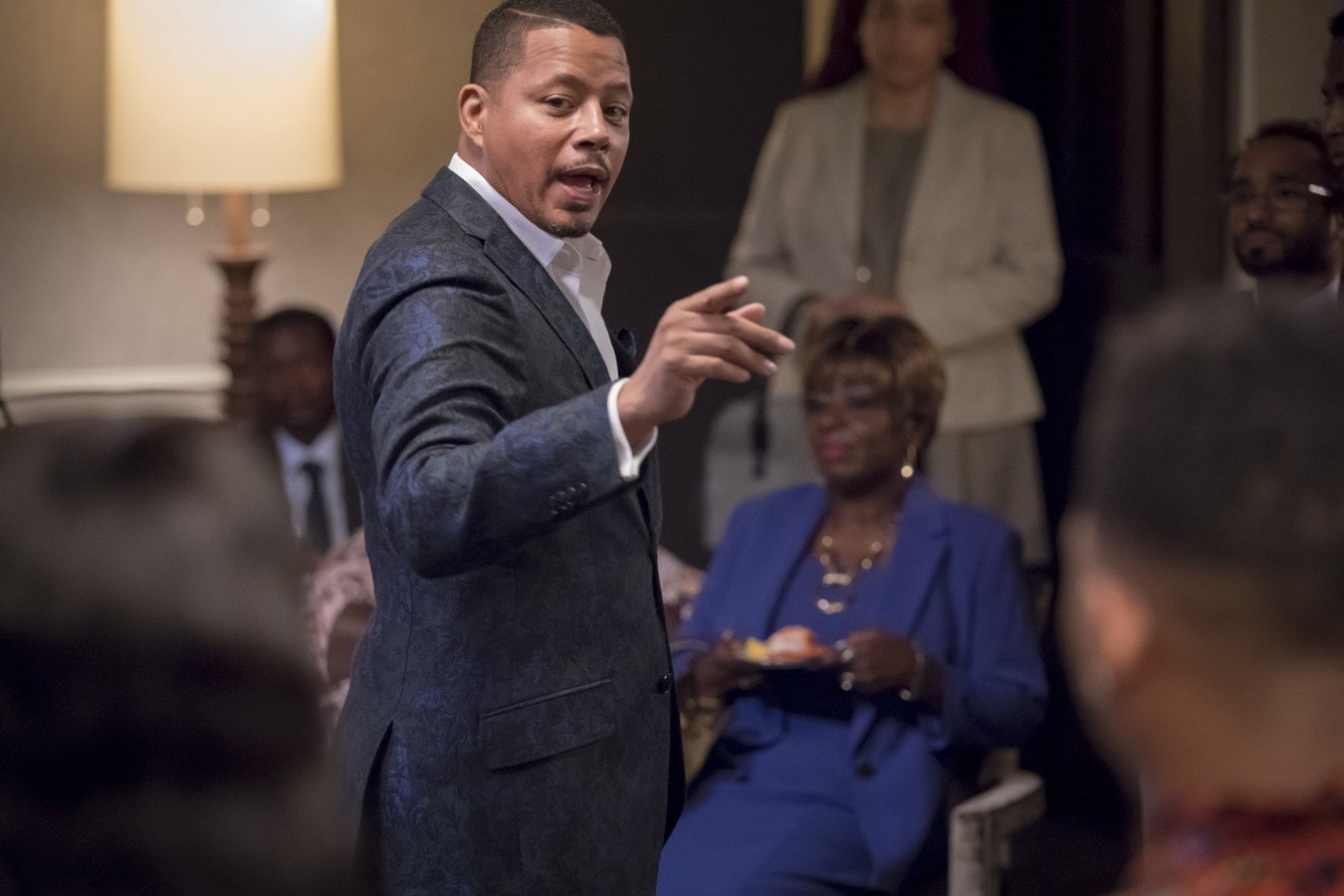 "EMPIRE: Terrence Howard in the ""Pride"" episode of EMPIRE airing Wednesday, Oct. 10 (8:00-9:00 PM ET/PT) on FOX. @2018 Fox Broadcasting Co. CR: Chuck Hodes/FOX."