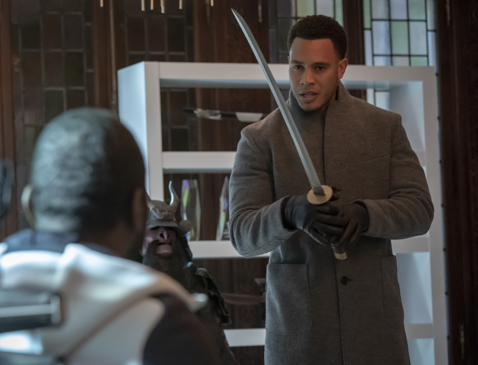 """EMPIRE: Trai Byers in the """"In Loving Virtue"""" episode of EMPIRE airing Wednesday, March 20 (8:00-9:00 PM ET/PT) on FOX. @2019 Fox Broadcasting Co. CR: Chuck Hodes/FOX."""