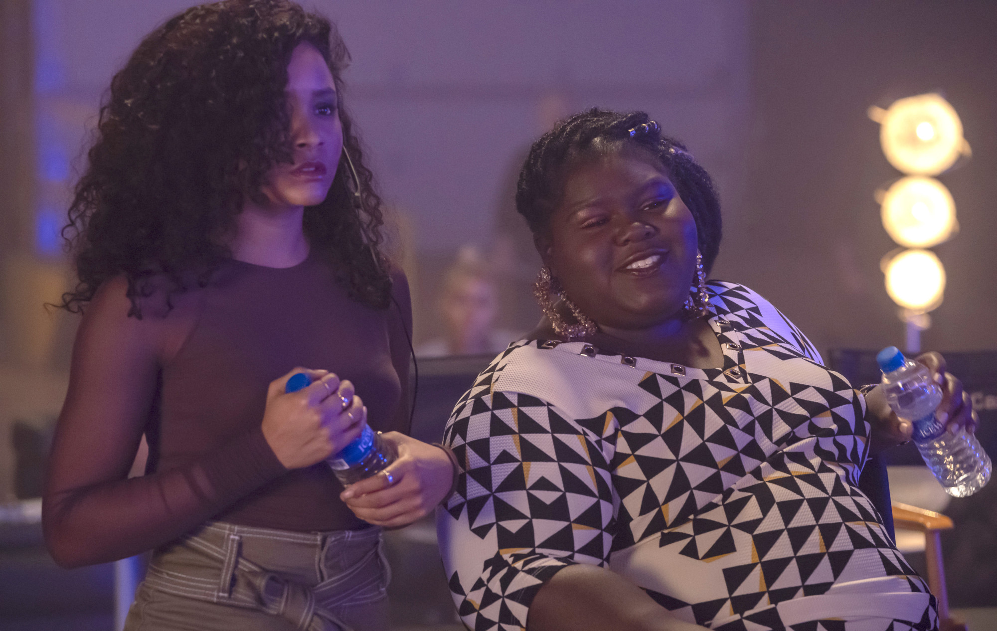 """EMPIRE: L-R: Rhyon Nicole Brown and Gabourey Sidibe in the """"Shift and Save Yourself"""" episode of EMPIRE airing Wednesday, March 27 (8:00-9:00 PM ET/PT) on FOX. @2019 Fox Broadcasting Co. CR: Chuck Hodes/FOX."""