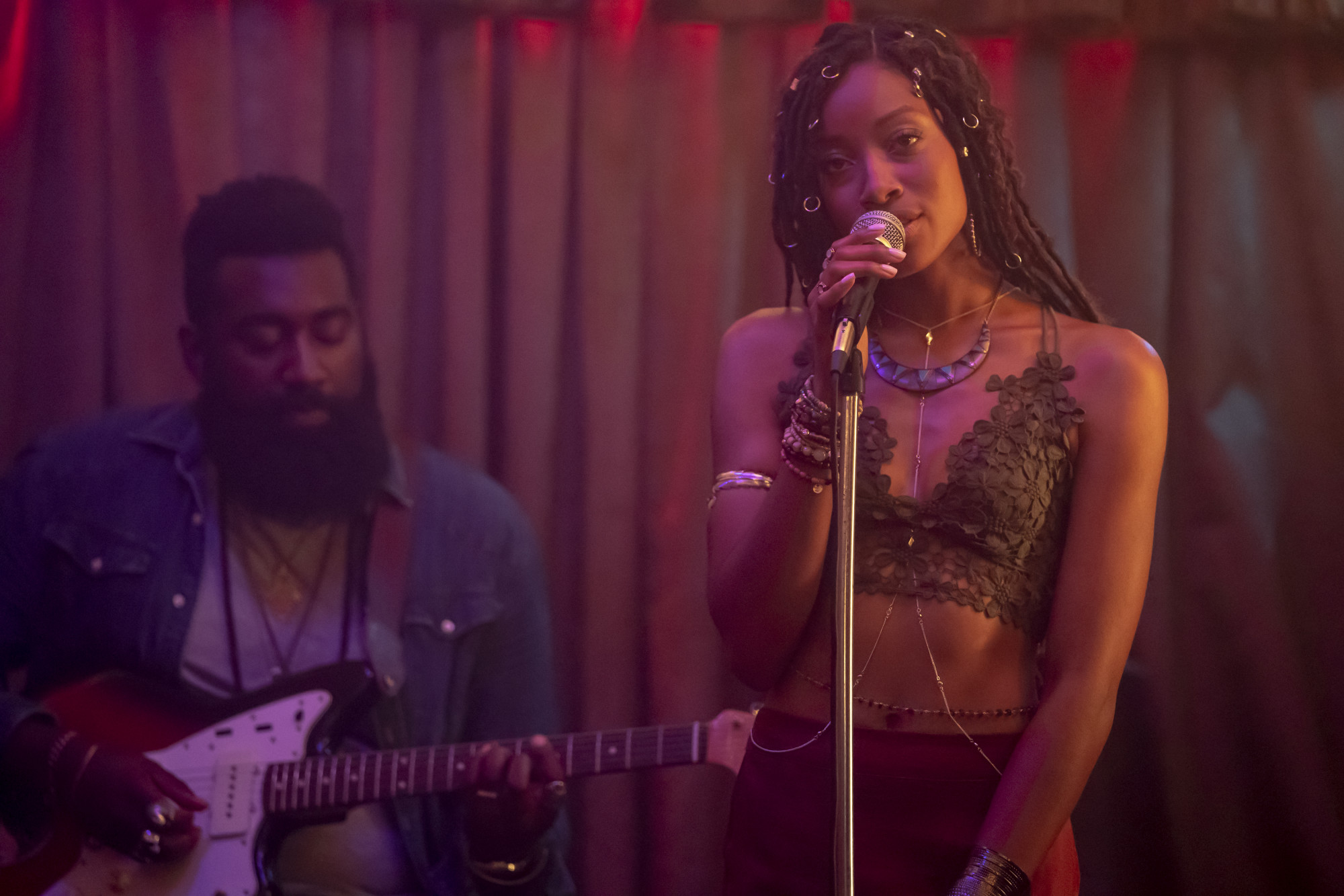 """EMPIRE: L-R: Guest star Kiandra Richardson in the """"What Is Love"""" season premiere episode of EMPIRE airing Tuesday, Sept. 24 (9:00-10:00 PM ET/PT) on FOX. ©2019 Fox Broadcasting Co. All Rights Reserved. CR: Chuck Hodes/FOX."""