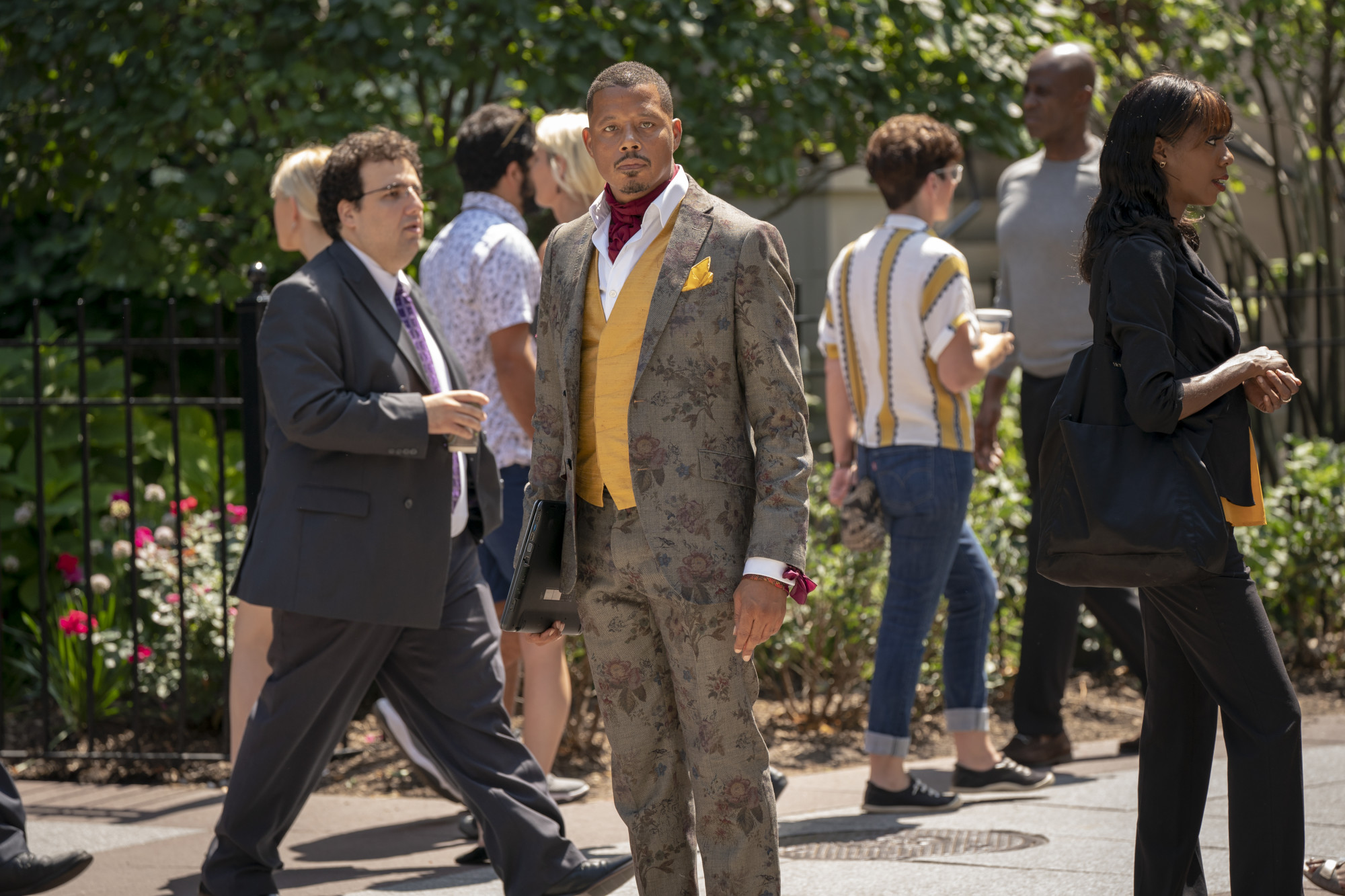 """EMPIRE: Terrence Howard in the """"You Broke Love"""" episode of EMPIRE airing Tuesday, Oct. 8 (9:00-10:00 PM ET/PT) on FOX. ©2019 Fox Media LLC. CR: Chuck Hodes/FOX."""