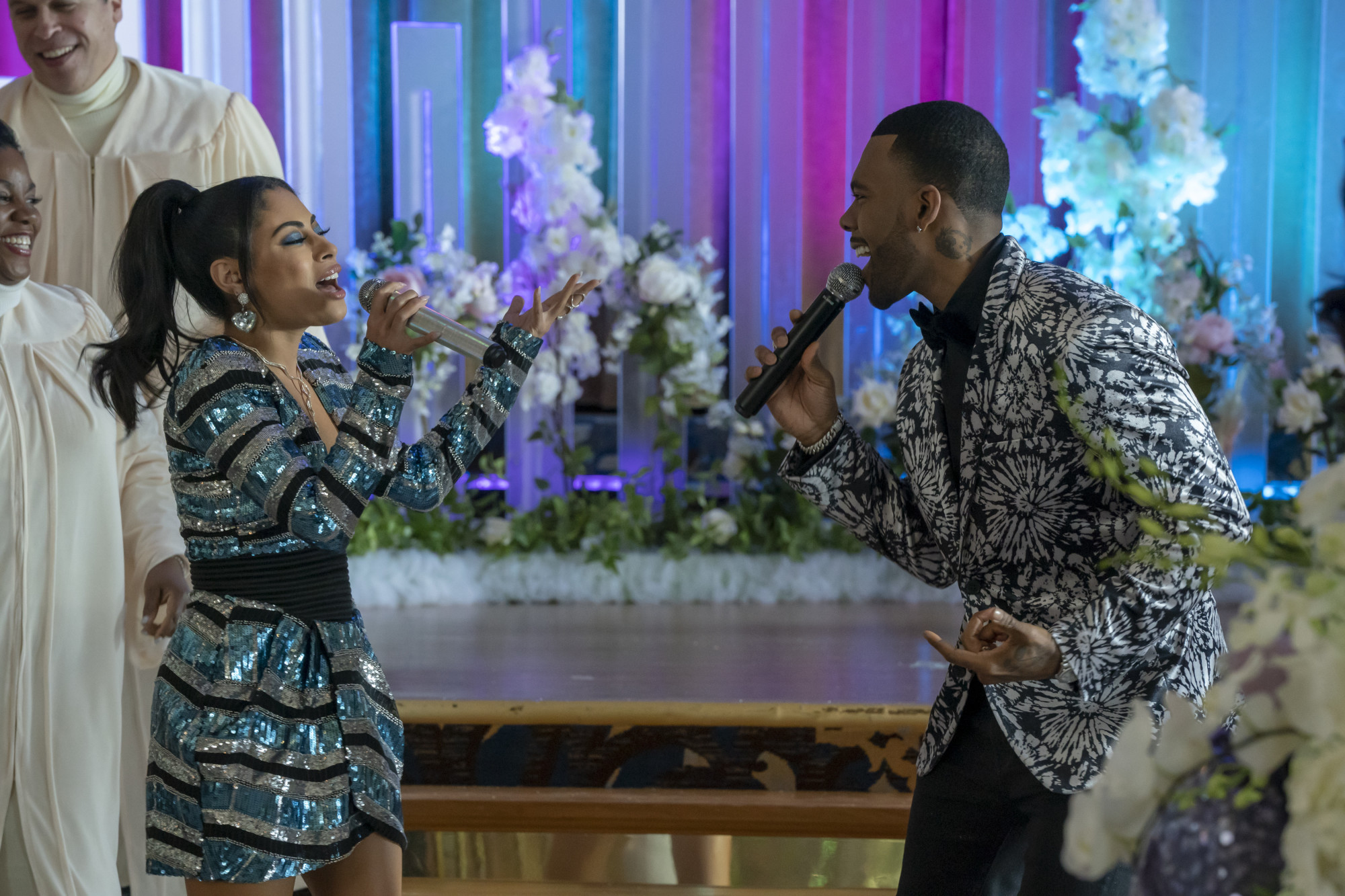 "EMPIRE: L-R: Katlynn Simone and Mario in the ""Love Me Still"" episode of EMPIRE airing Tuesday, March 31 (9:00-10:00 PM ET/PT) on FOX. ©2020 Fox Media LLC. CR: Chuck Hodes/FOX."
