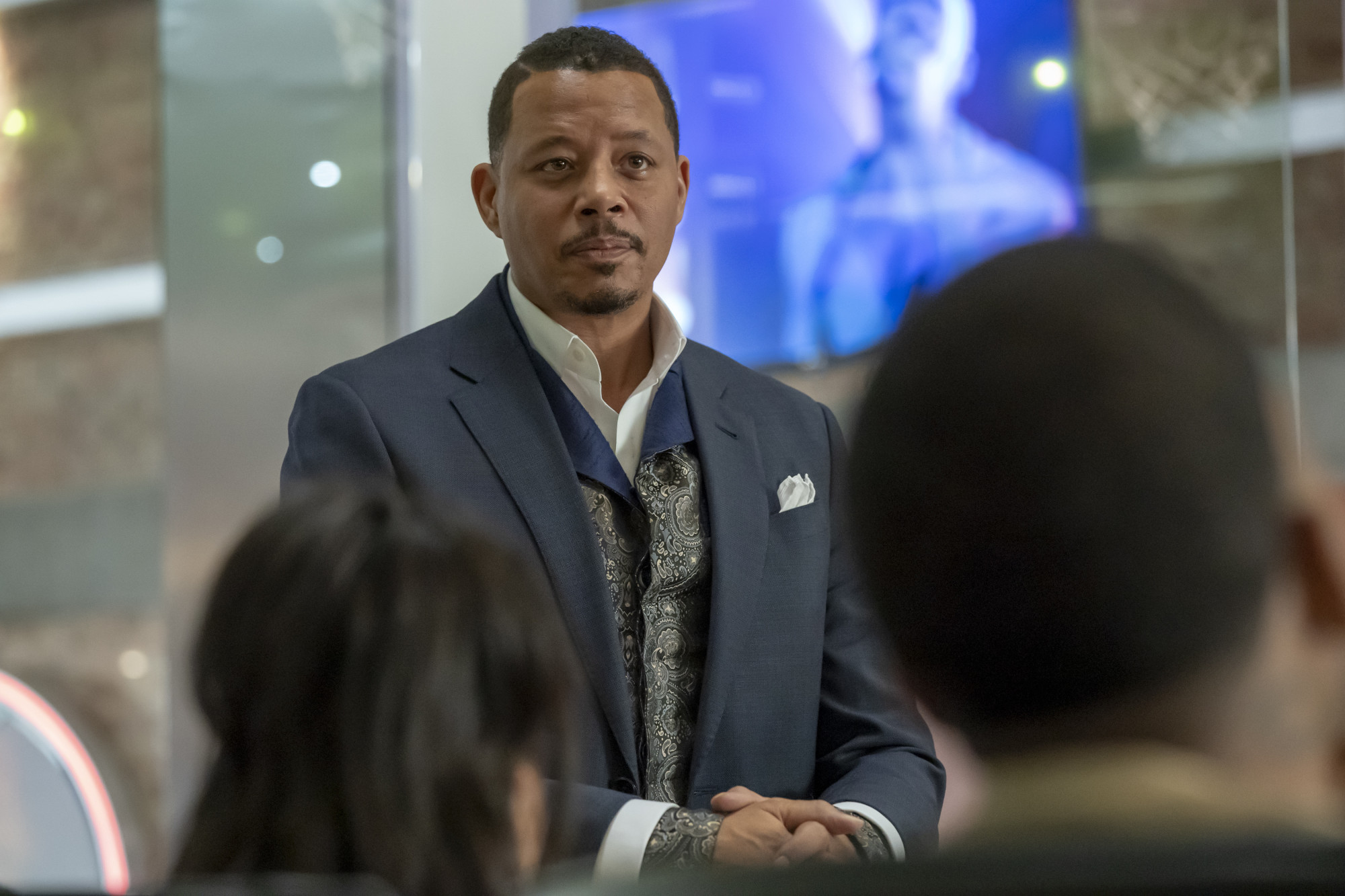 "EMPIRE: Terrence Howard in the ""We Got Us"" series' 100th episode of EMPIRE airing Tuesday, April 7 (9:00-10:00 PM ET/PT) on FOX. ©2020 Fox Media LLC. CR: Chuck Hodes/FOX."