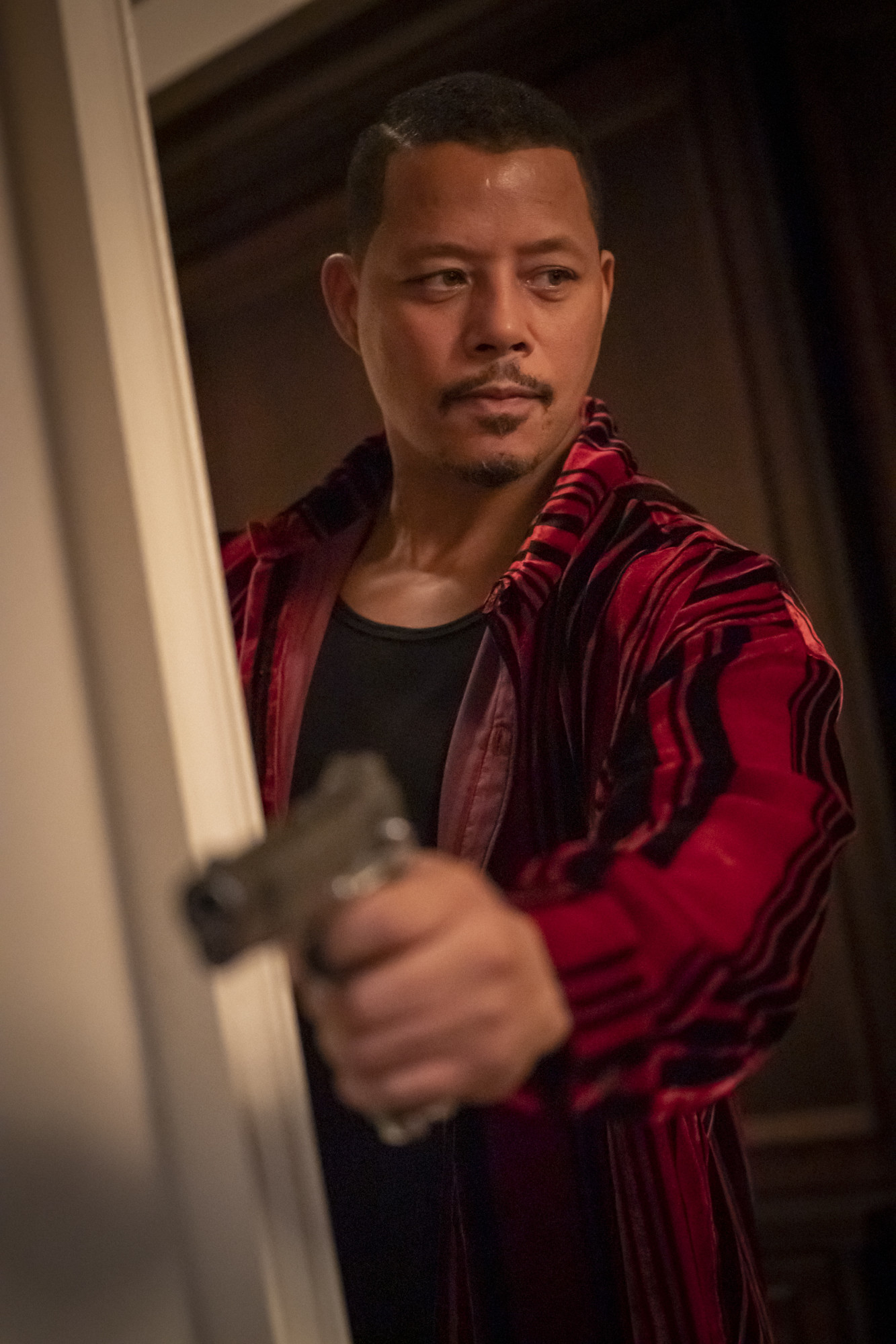 "EMPIRE: Terrence Howard in the ""Home is on the Way"" episode of EMPIRE airing Tuesday, April 21 (9:00-10:00 PM ET/PT) on FOX. ©2020 Fox Media LLC. CR: Chuck Hodes/FOX."