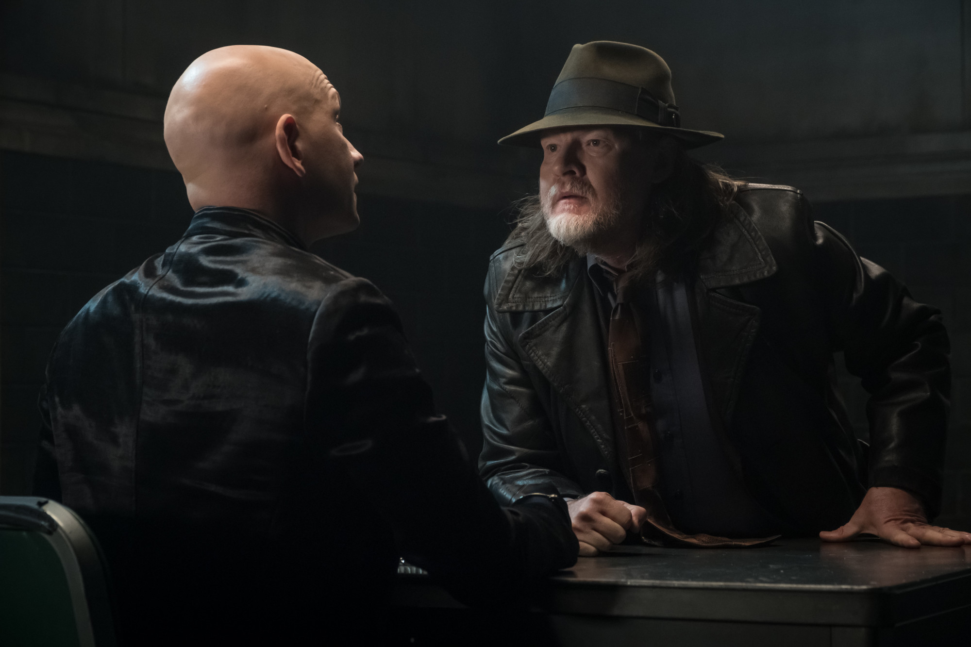 """GOTHAM: Donal Logue in the """"The Trial of Jim Gordon"""" episode of GOTHAM airing Thursday, March 7 (8:00-9:00 PM ET/PT) on FOX. ©2019 Fox Broadcasting Co. Cr: Jeff Neumann/FOX"""