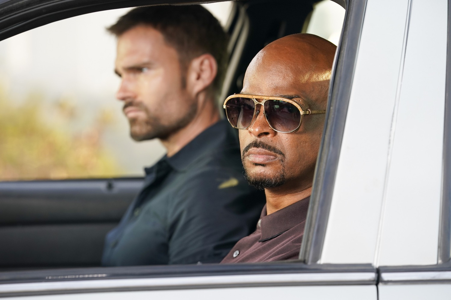 """LETHAL WEAPON: L-R: Seann William Scott and Damon Wayans in the """"Panama"""" episode of LETHAL WEAPON airing Tuesday, Nov. 6 (9:00-10:00 PM ET/PT) on FOX. ©2018 Fox Broadcasting Co. CR: FOX"""