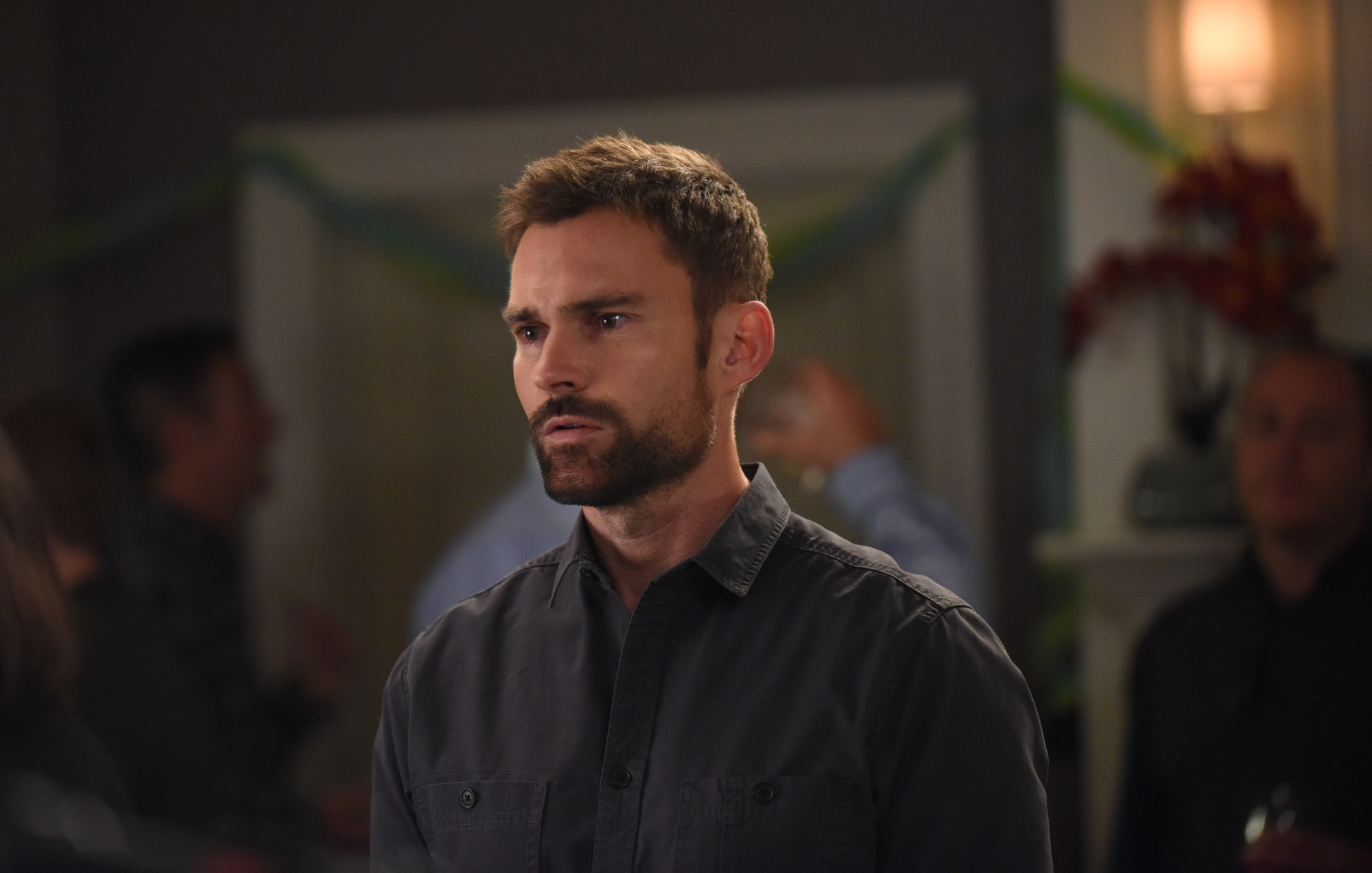 "LETHAL WEAPON: Seann William Scott in the ""Bad Santas"" fall finale episode of LETHAL WEAPON airing Tuesday, Dec. 4 (9:00-10:00 PM ET/PT) on FOX. ©2018 Fox Broadcasting Co. CR: Ray Mickshaw/FOX"