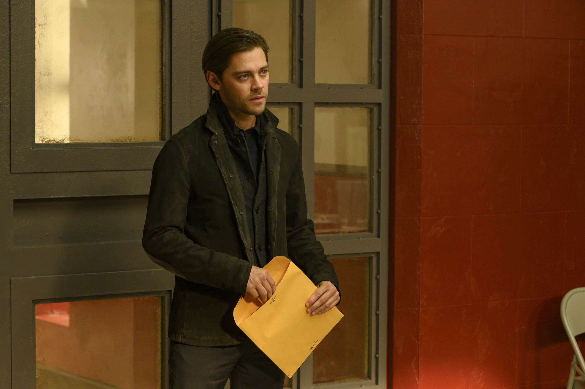 "PRODIGAL SON:  Tom Payne in the ""Pilot"" series premiere episode of PRODIGAL SON airing Monday, Sept. 23 (9:00-10:00 PM ET/PT) on FOX. © 2019 FOX MEDIA LLC. Cr: David Giesbrecht / FOX."