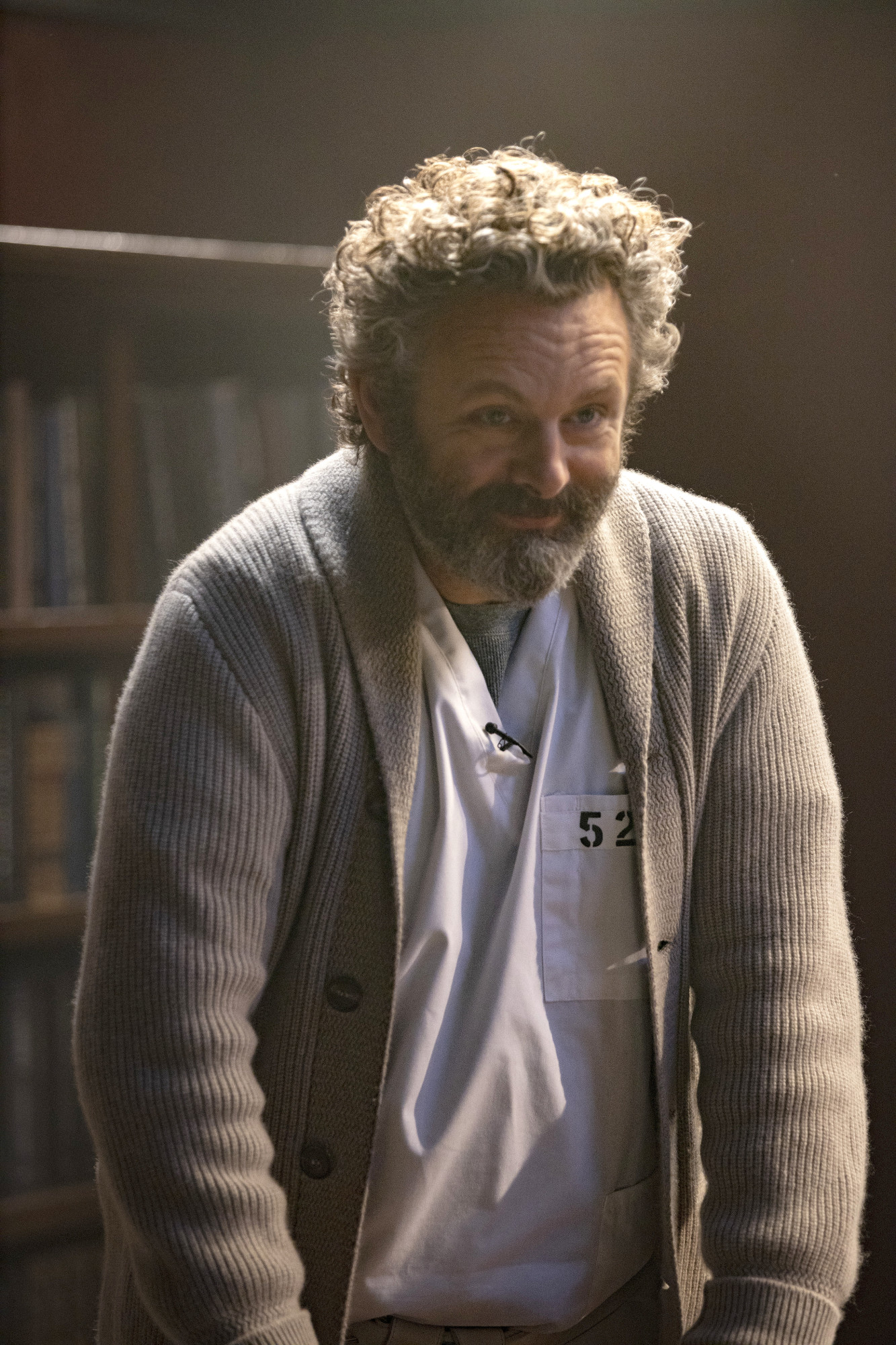 "PRODIGAL SON:  Michael Sheen in the ""Q&A"" episode of PRODIGAL SON airing Monday, Nov. 4 (9:01-10:00 PM ET/PT) on FOX. © 2019 FOX MEDIA LLC. Cr:  Eric Liebowitz/FOX."