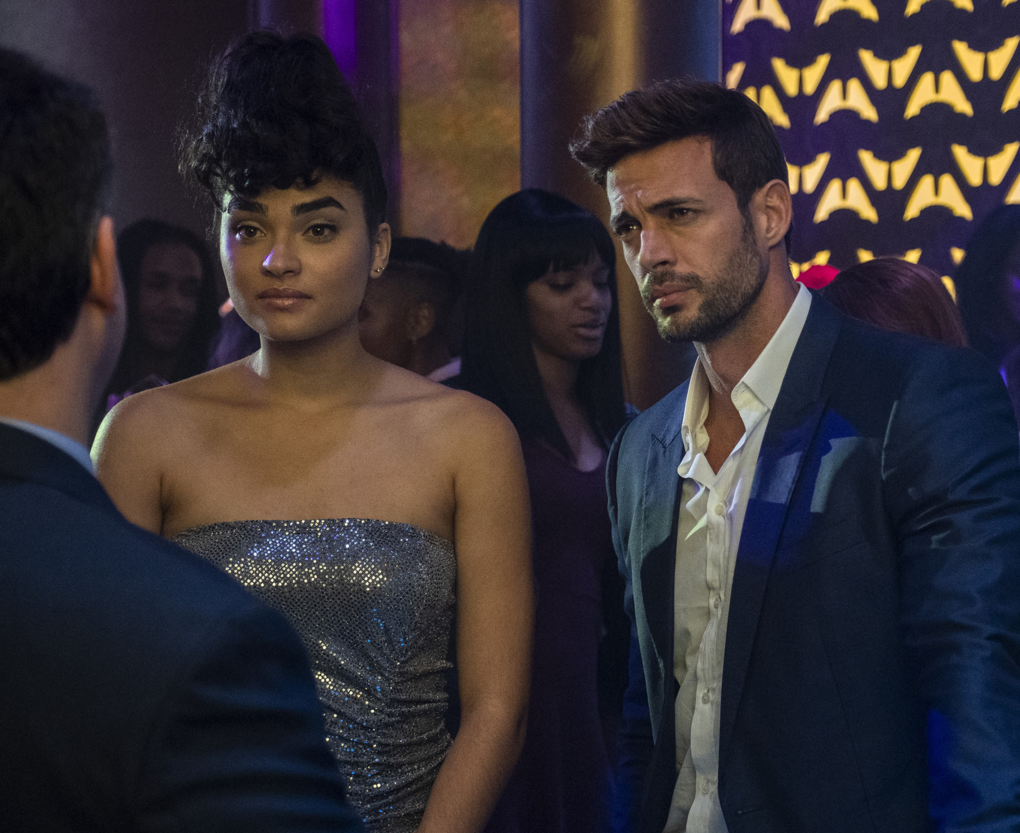 """STAR: L-R: Brittany O'Grady and William Levy in the """"Watch the Throne"""" episode of STAR airing Wednesday, March 20 (9:00-10:00 PM ET/PT) on FOX. ©2019 Fox Broadcasting Co. CR: Wilford Harewood/FOX."""
