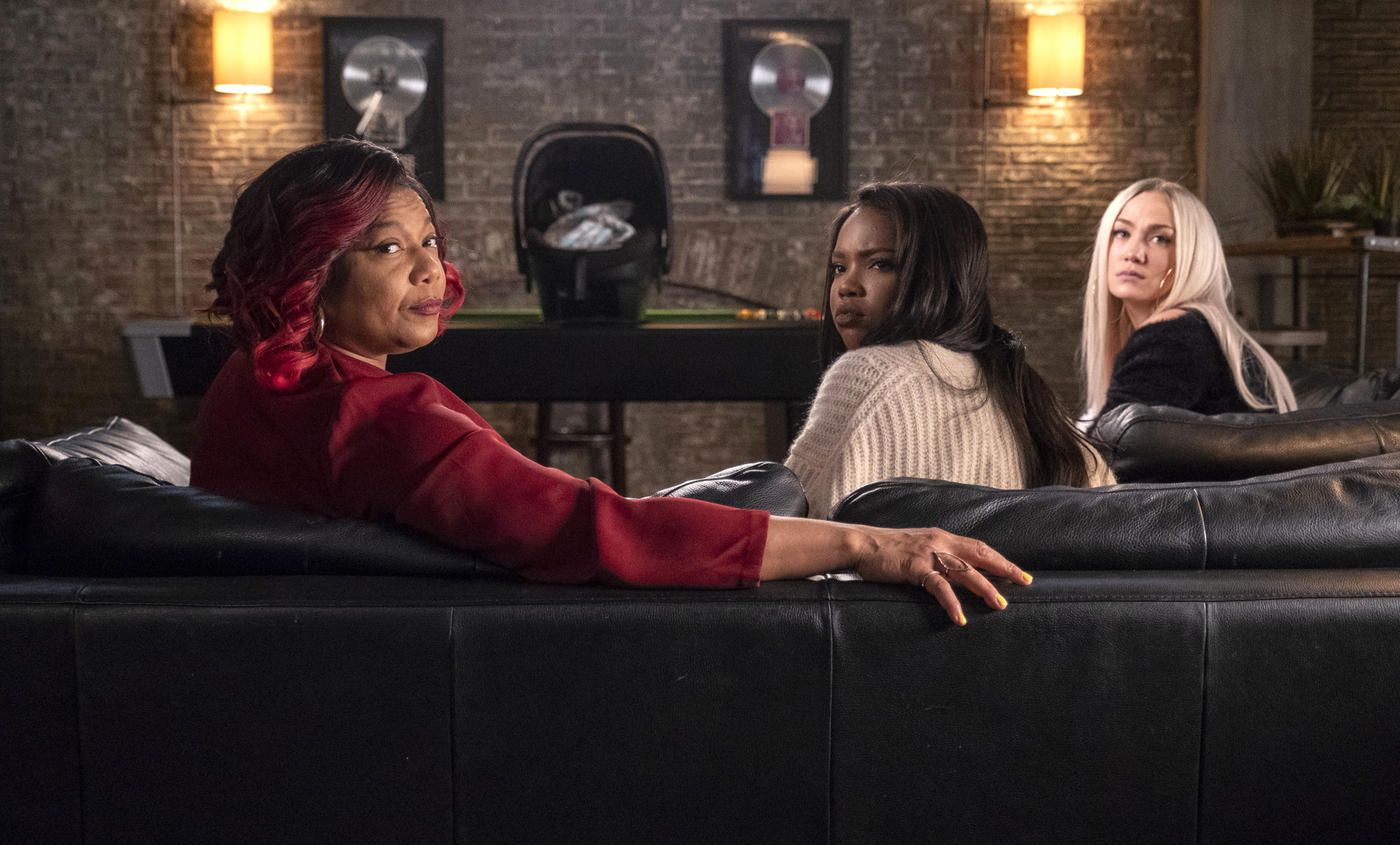 """STAR: L-R: Queen Latifah, Ryan Destiny and Jude Demorest in the """"Square One"""" episode of STAR airing Wednesday, April 24 (9:00-10:00 PM ET/PT) on FOX. ©2019 Fox Media LLC CR: Wilford Harewood/FOX."""