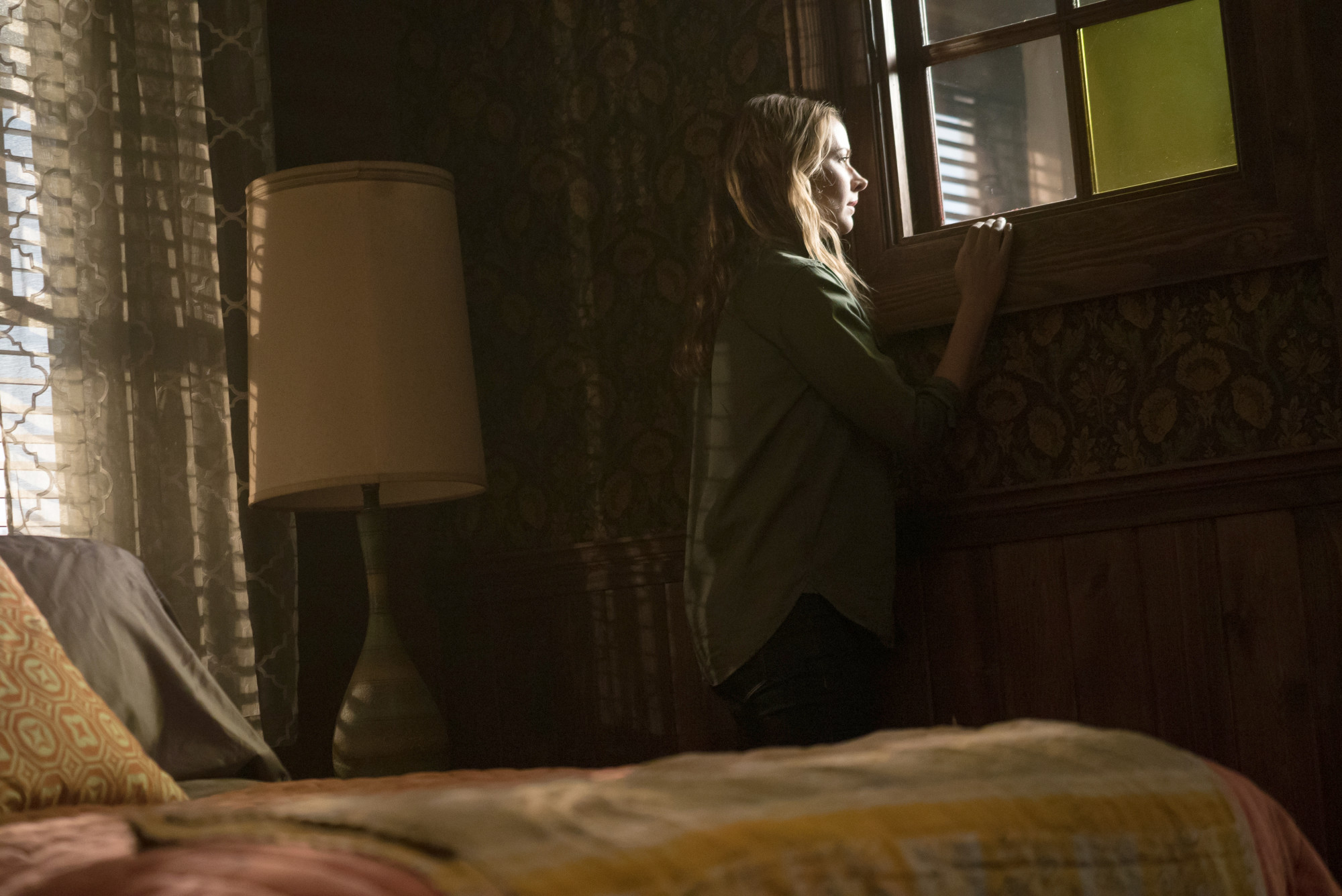 """THE GIFTED:  Amy Acker in the """"meMento"""" episode of THE GIFTED airing Tuesday, Jan. 8 (9:00-10:00 PM ET/PT) on FOX. ©2018 Fox Broadcasting Co. Cr: Annette Brown/FOX."""