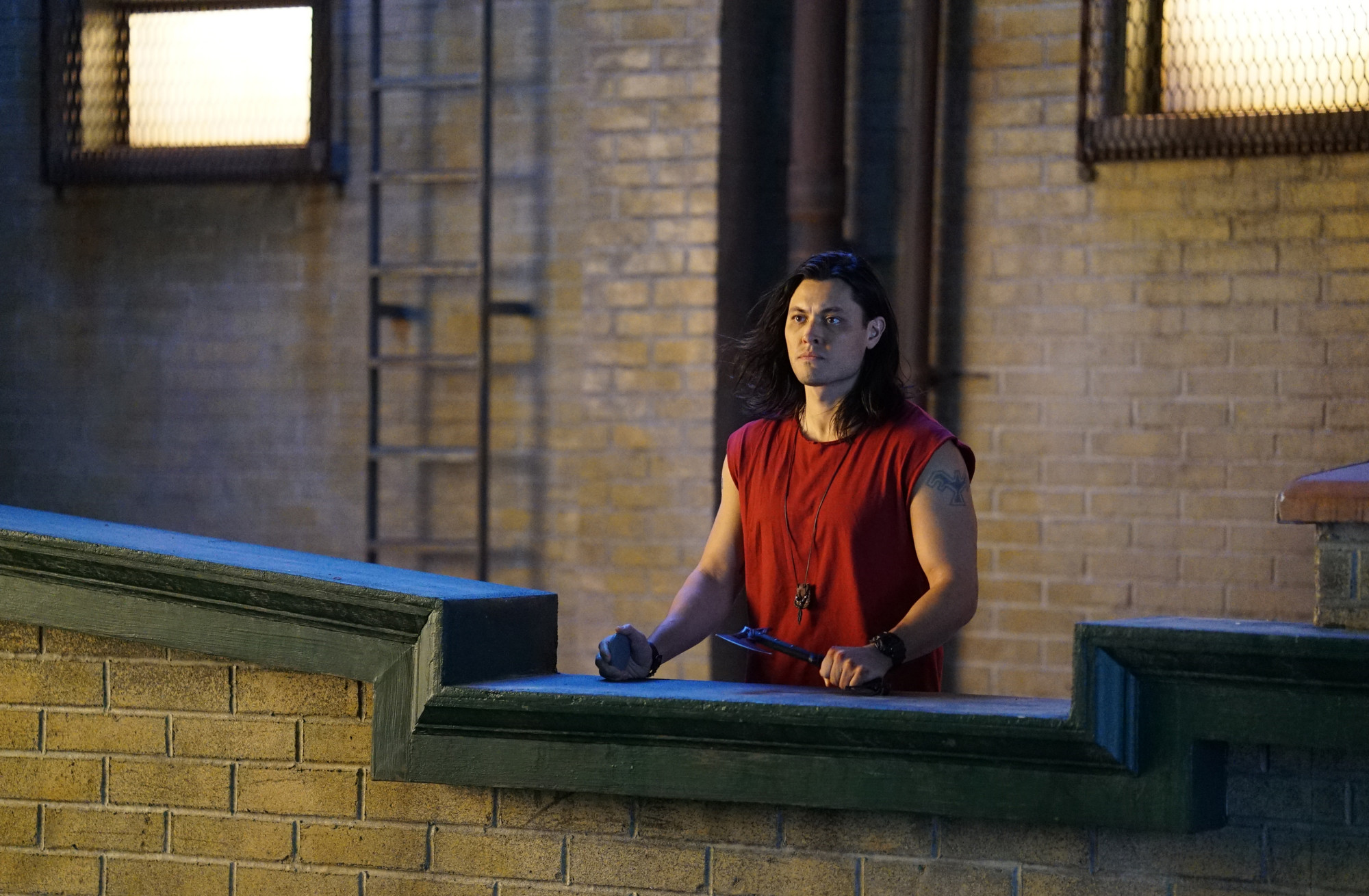 """THE GIFTED:  Blair Redford in the """"Monsters"""" episode of THE GIFTED airing Tuesday, Feb. 19 (9:00-10:00 PM ET/PT) on FOX. ©2018 Fox Broadcasting Co. Cr: Annette Brown/FOX."""