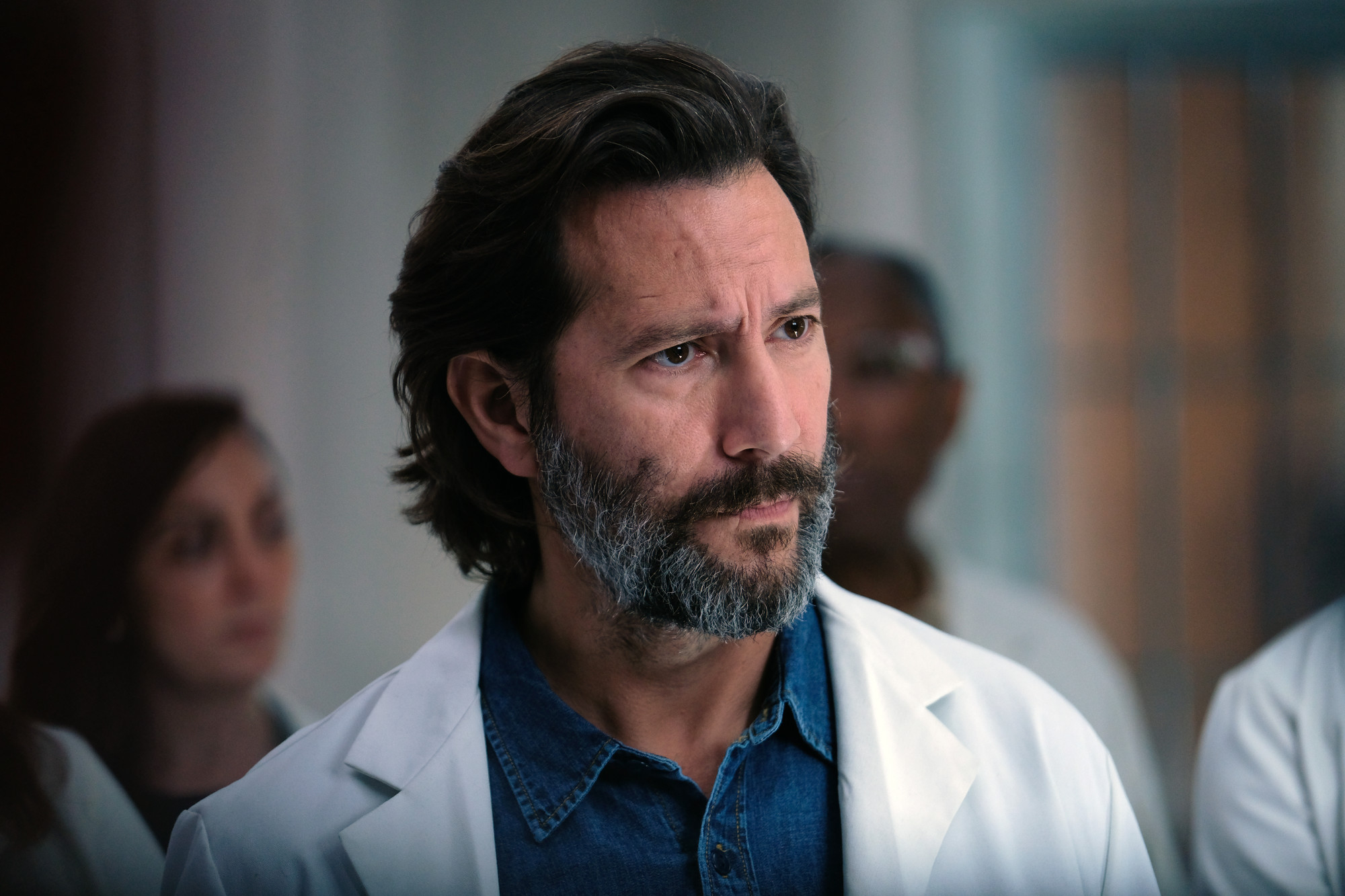 THE PASSAGE: Henry Ian Cusick in THE PASSAGE premiering Monday, Jan. 14 (9:00-10:00 PM ET/PT) on FOX. © 2019 FOX Broadcasting.  CR: Eliza Morse / FOX