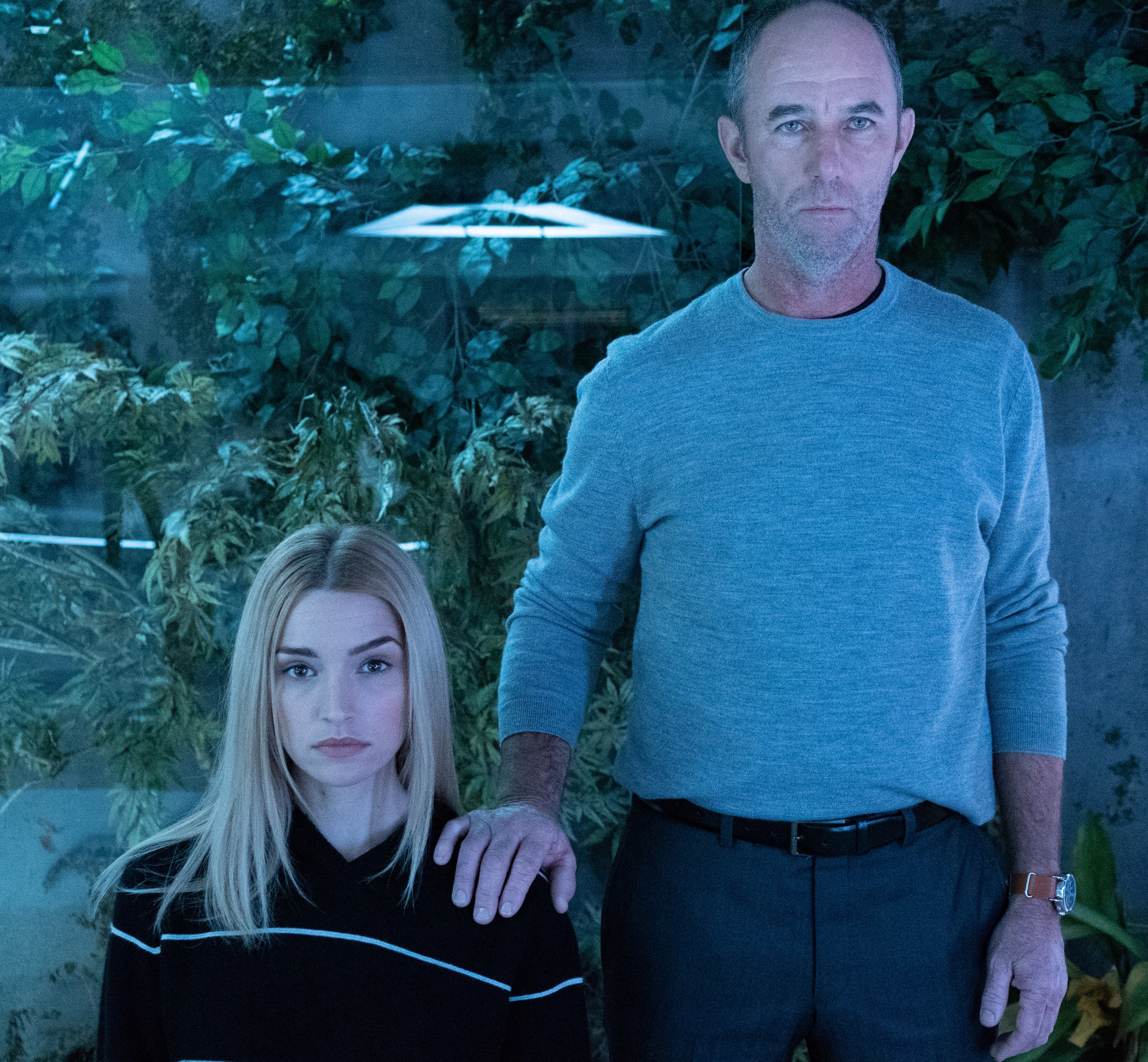 "THE PASSAGE: Brianne Howey and Jamie McShane in the  ""You Are Like The Sun"" episode of THE PASSAGE airing Monday, Feb. 25 (9:00-10:00 PM ET/PT) on FOX.   © 2019 FOX Broadcasting. Cr. Erika Doss / FOX."