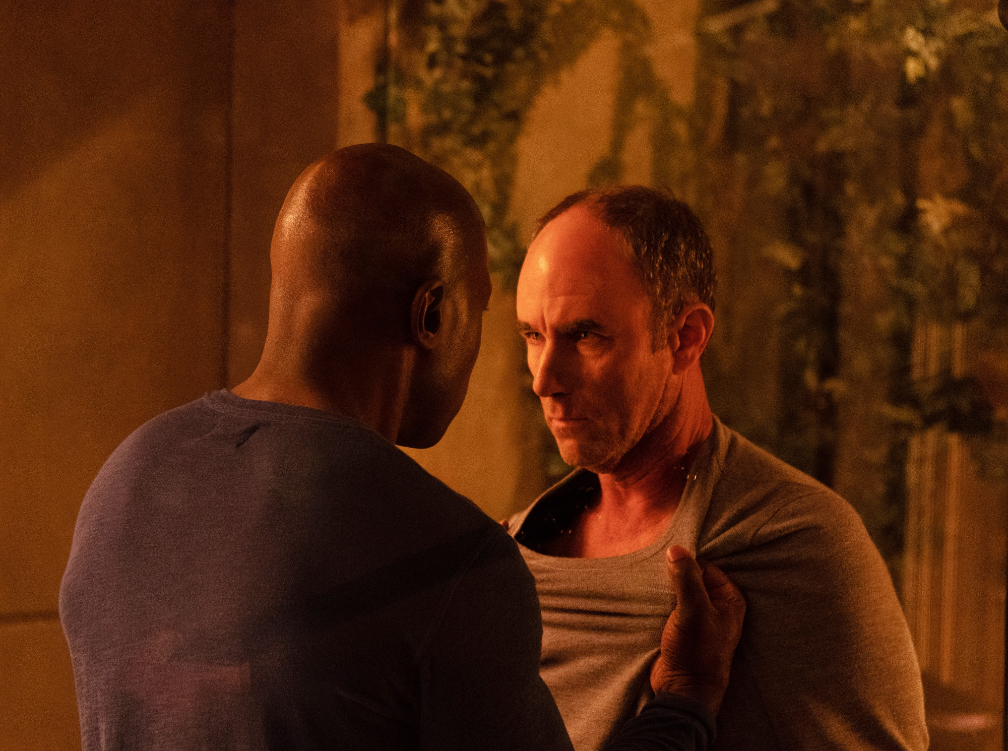 """THE PASSAGE: L-R: McKinley Belcher III and Jamie McShane  in the  """"You Are Not That Girl Anymore"""" episode of THE PASSAGE airing Monday, March 4 (9:00-10:00 PM ET/PT) on FOX. © 2019 FOX Broadcasting. CR: Erika Doss / FOX."""