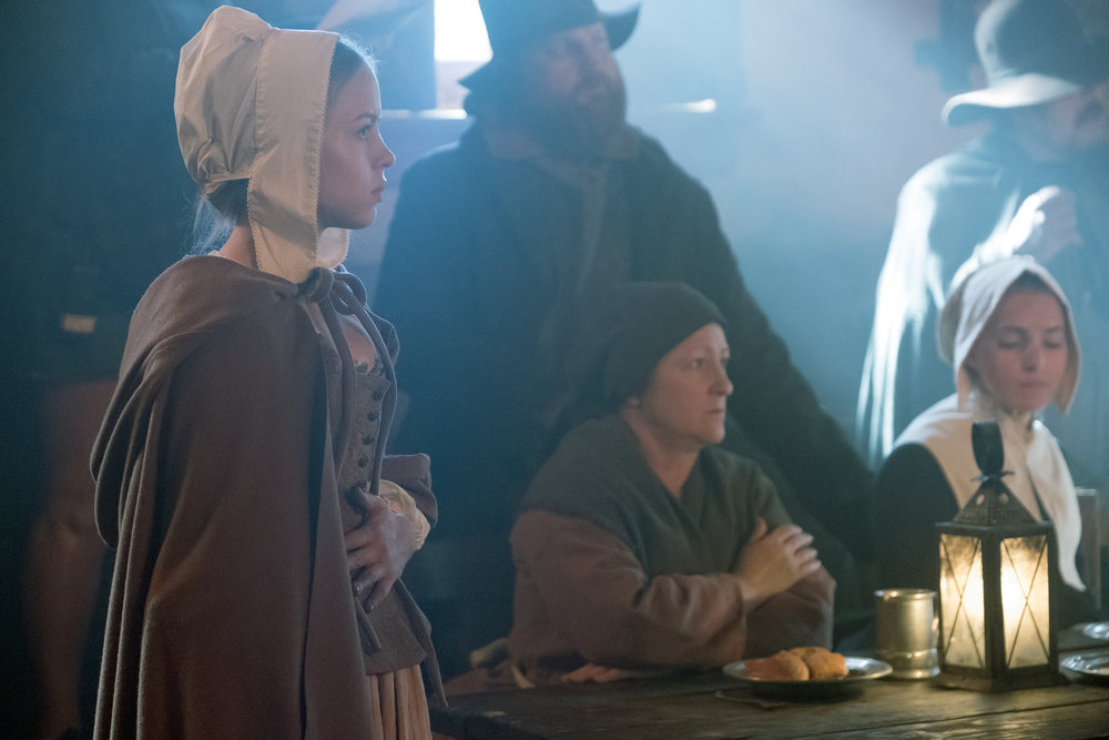 "TIMELESS -- ""The Salem Witch Hunt"" Episode 204"