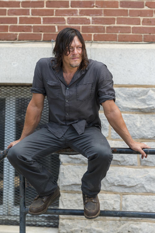 Norman Reedus as Daryl Dixon- The Walking Dead _ Season 7, Episode 10 - Photo Credit: Gene Page/AMC