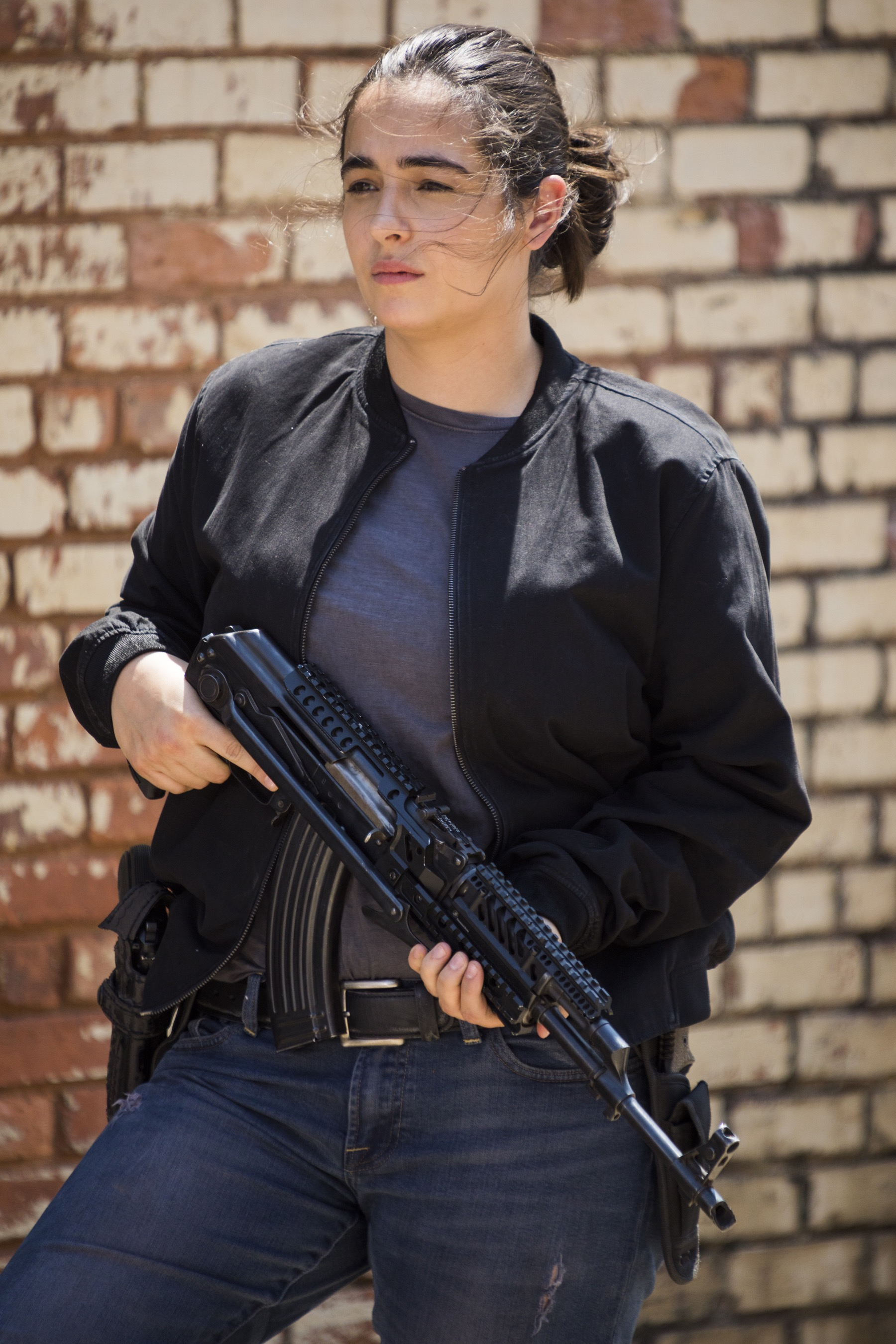 Alanna Masterson as Tara Chambler- The Walking Dead _ Season 8, Episode 1 - Photo Credit: Jackson Lee Davis/AMC