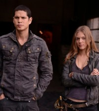 JD Pardo as Nate, Tracy Spiridakos as Charlie Matheson -- (Photo by: Brownie Harris/NBC)